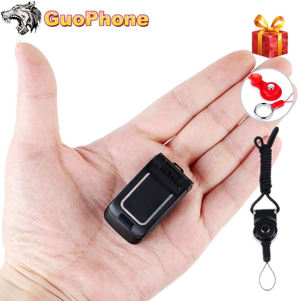 "J9 Mini Clamshell Phone 0.66"" Wireless Bluetooth Dialer Magic Voice Handsfree Earphone Small Flip Mobile Phone for Kids"