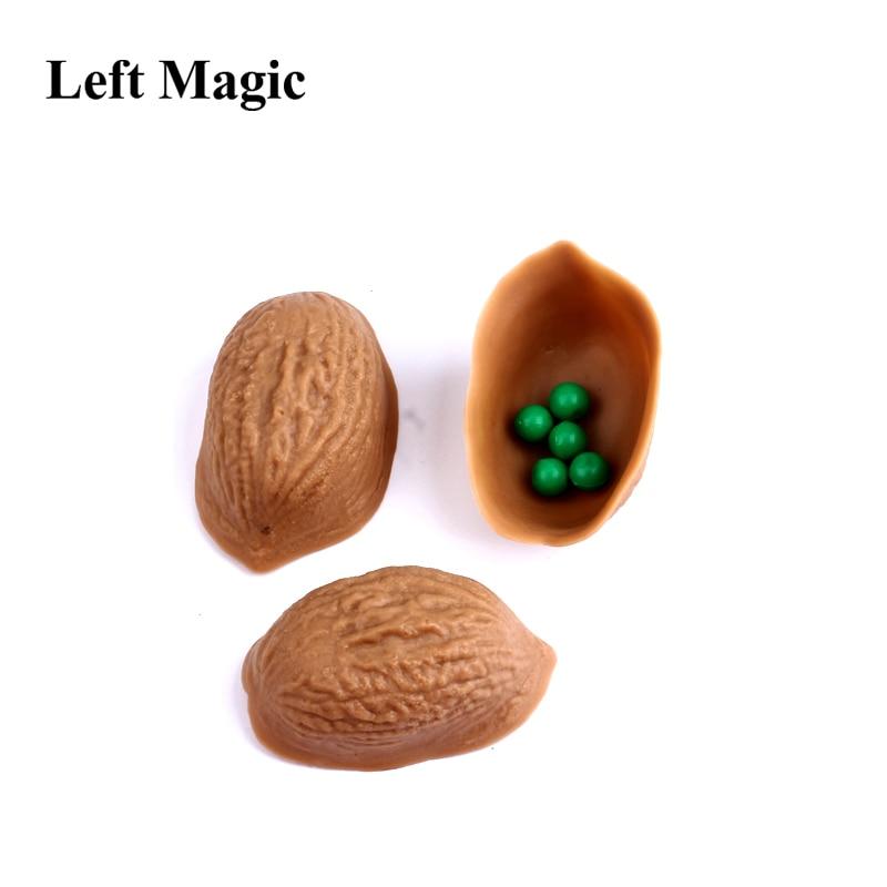 1 комплект три раковины игра Волшебные трюки для мага крупным планом Иллюзия реквизит для фокусов комедия классические дети Mgica игрушка 3033