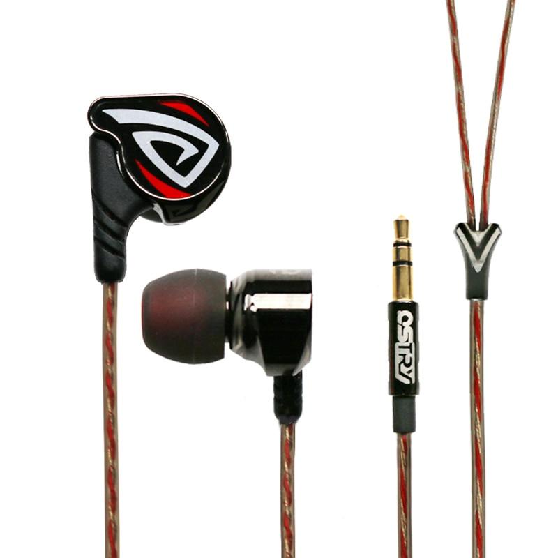 OSTRY KC06 KC06A Headphone  HIFI High Fidelity Professional Quality Stereo Inner-Ear Earphones Earbuds