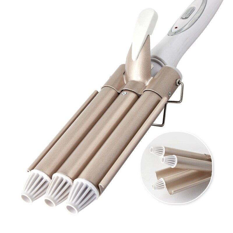 tres vara modelador de cabelo nao prejudica a geracao de energia curling ferro vara