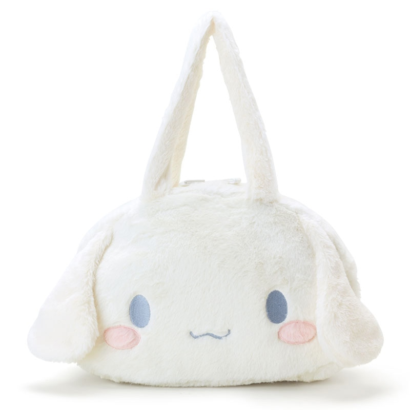 Japan Sanrio Cinnamoroll Fluffy Shoulder Bag Lolita Big Ear Ita Bag Cute Cute Plush Doll Handbag