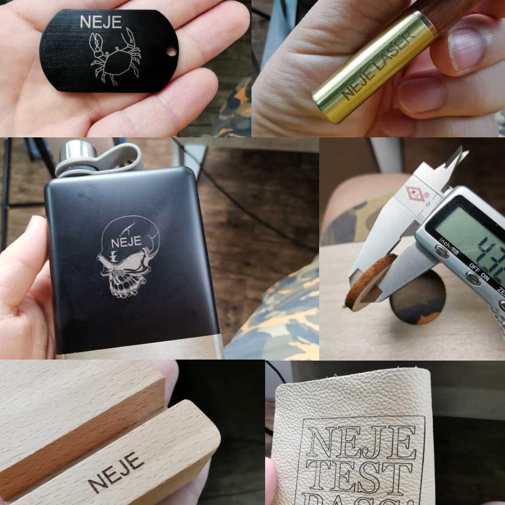 New 20W/7000mw/3500MW CNC Laser Engraver Portable Engraving Carving Machine Mini DIY Laser Logo Mark Printer for Metal Engraving