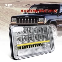 ip67 4x6 inch led headlight hilow beam working light for truck tractors atvs forklifts motorcycles