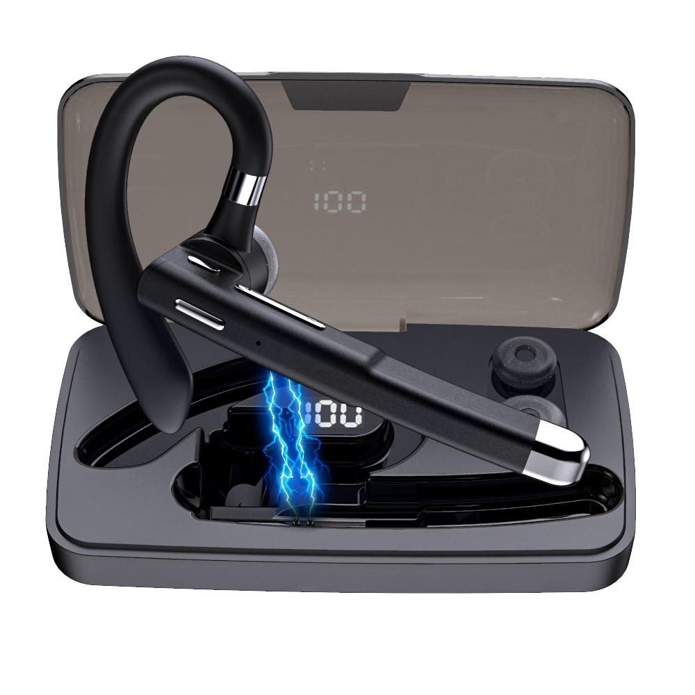 Auriculares inalámbricos con Bluetooth, dispositivo manos libres, con cancelación de ruido y...