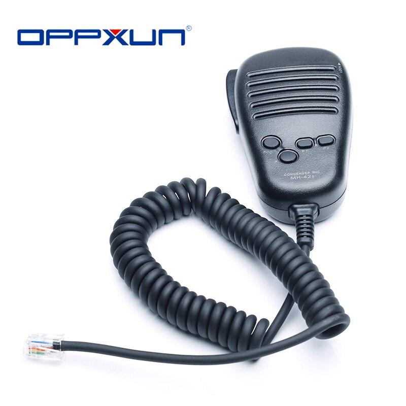 Car Radio Microphone MH-42B for Yaesu FT-7800R FT-7900R  FT-1807M  FT-1802M FT-1907R  FT-8800 FT-8900 FT-1900 FT-2900