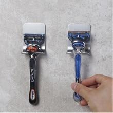Hot Sale 1Pc Stainless Steel Shaver Toothbrush Holder Washroom Wall Cup Hook Razor Bathroom Useful