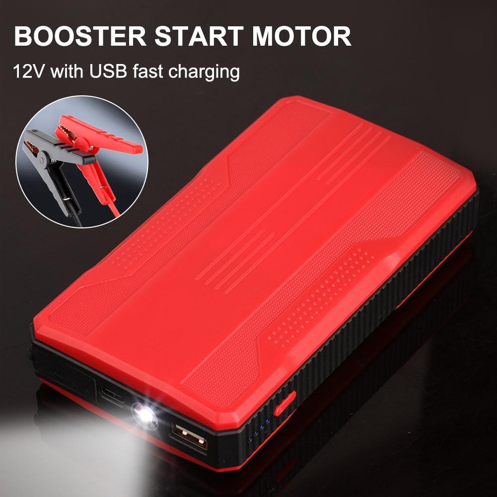 Новинка 20000 мАч автомобильный стартер внешний аккумулятор портативный аварийный автомобильный аккумулятор бустер 5 В/2 а USB выход светодиод...