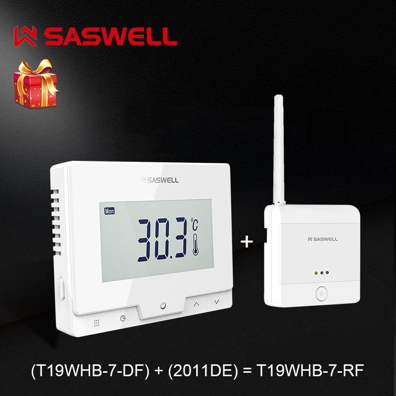 Controlador de temperatura del termostato SASWELL para la caldera de Gas termoregulatador semanal programable