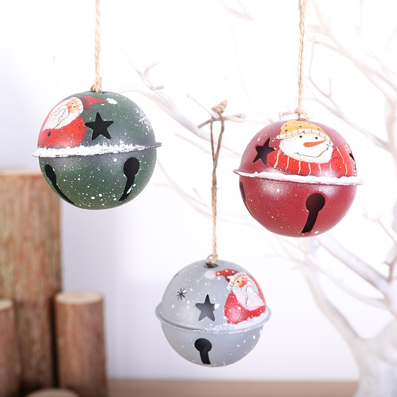 Jingle Bells Aluminum Loose Beads Small For Festival Party Decoration/Christmas Tree Decoration/DIY Crafts Accessories 50pcs christmas jingle bells metal little bells decoration colorful mix color party diy beads christmas jewelry accessories