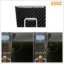for Nissan 350Z Z33 2006-2009 Car Co-pilot Position Passenger Storage Door Handle Modified Sticker