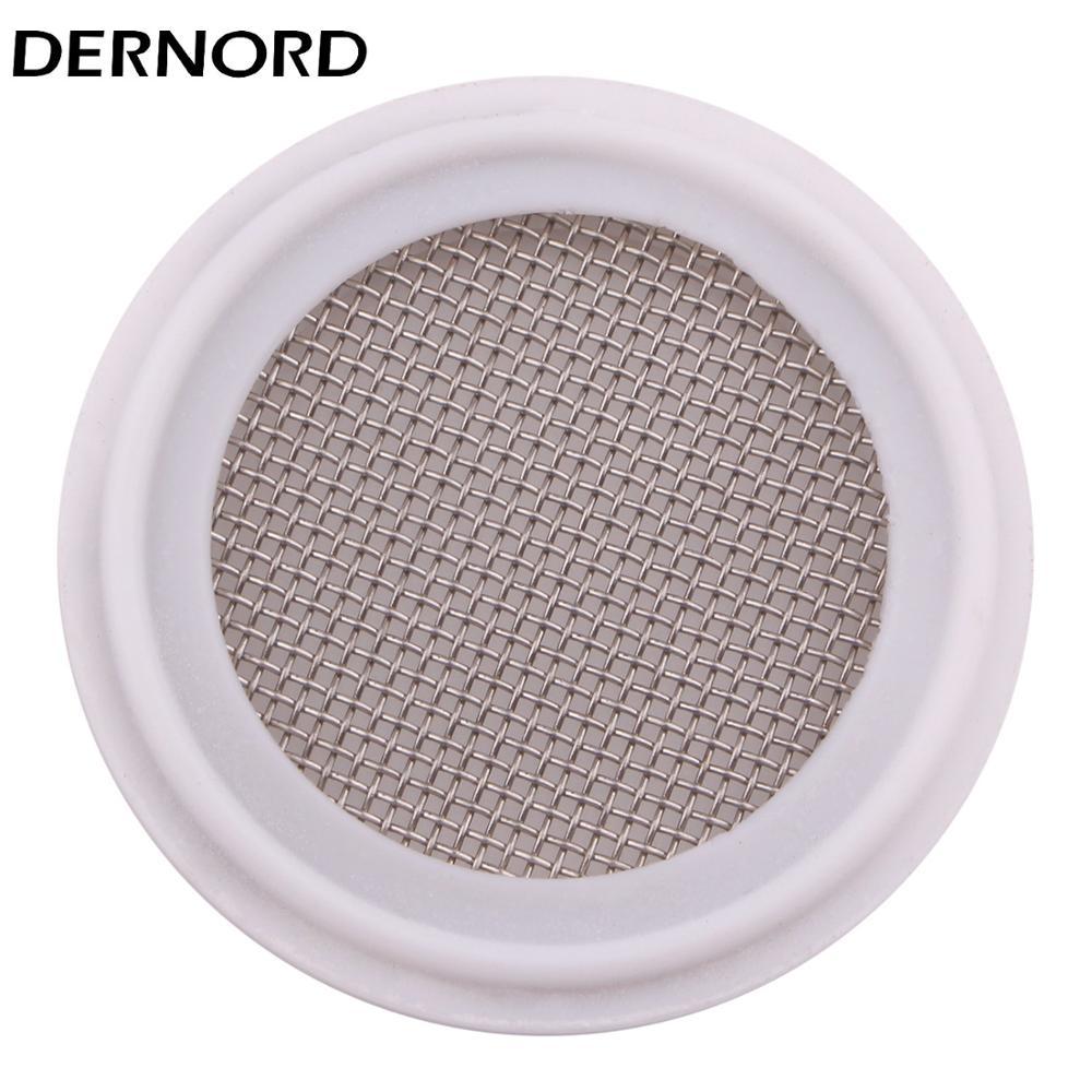 DERNORD 2''Tri Clamp PTFE Seal Strip Stainless 20 Mesh Sanitary Screen Gasket SUS304