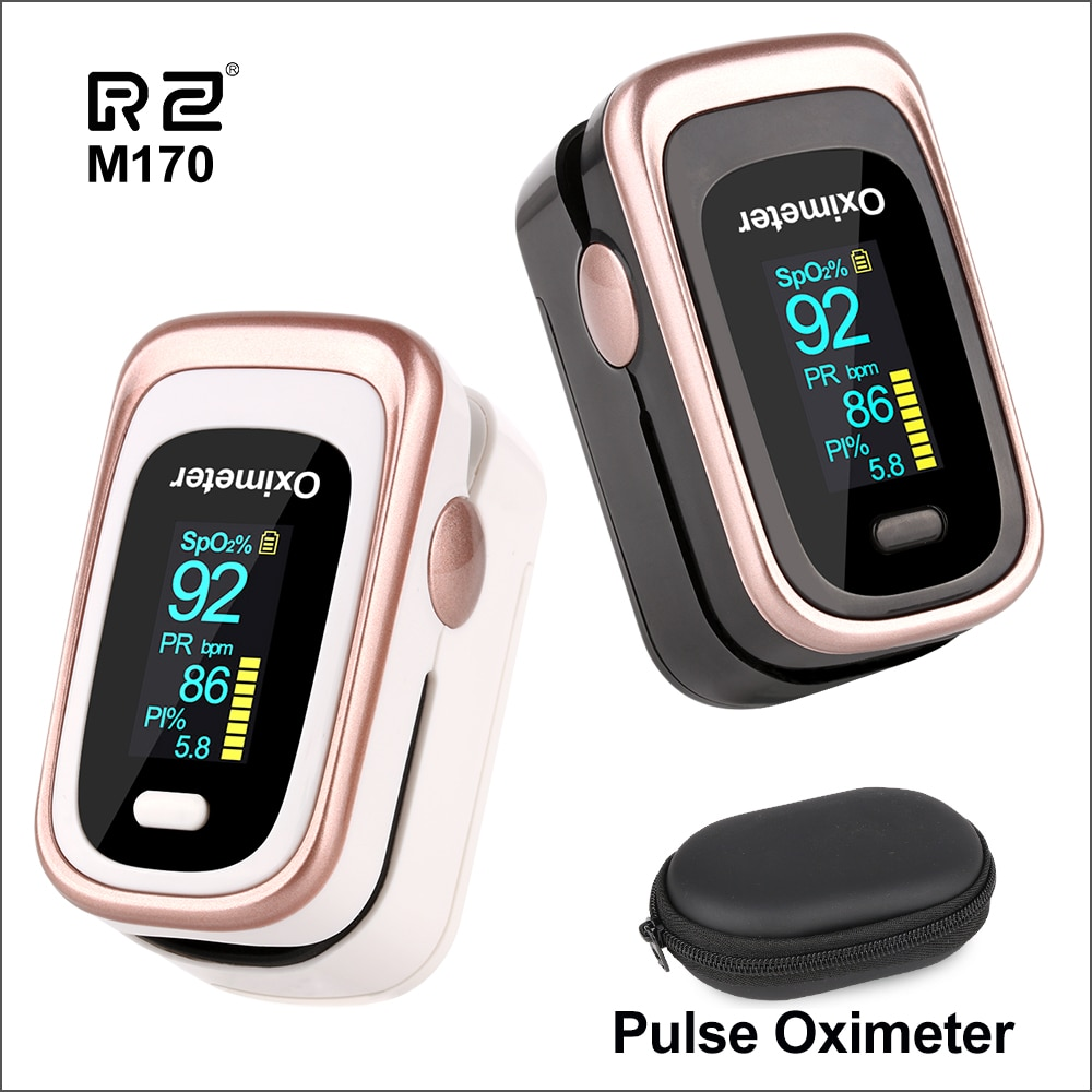 RZ Portable Finger Oximeters Fingertip Pulsioximetro Heart Rate Saturometro Household Health Monitors Pulse Oximeter Oximetro