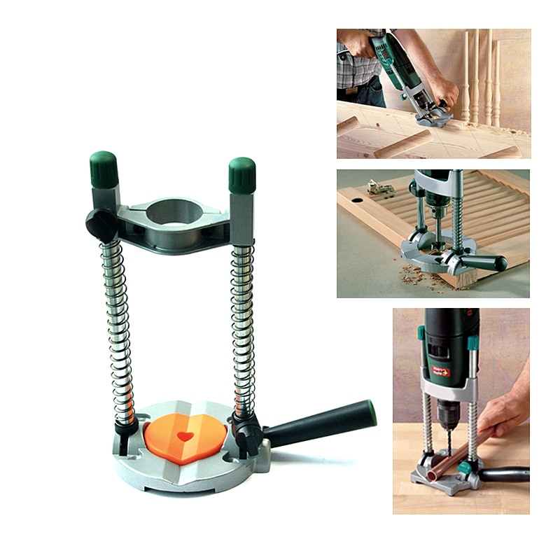 Mobile Drilling Holder Woodworking Portable Universal Mobile Mini Holder Power Tools Accessories Hand Drill Stand Durable enlarge