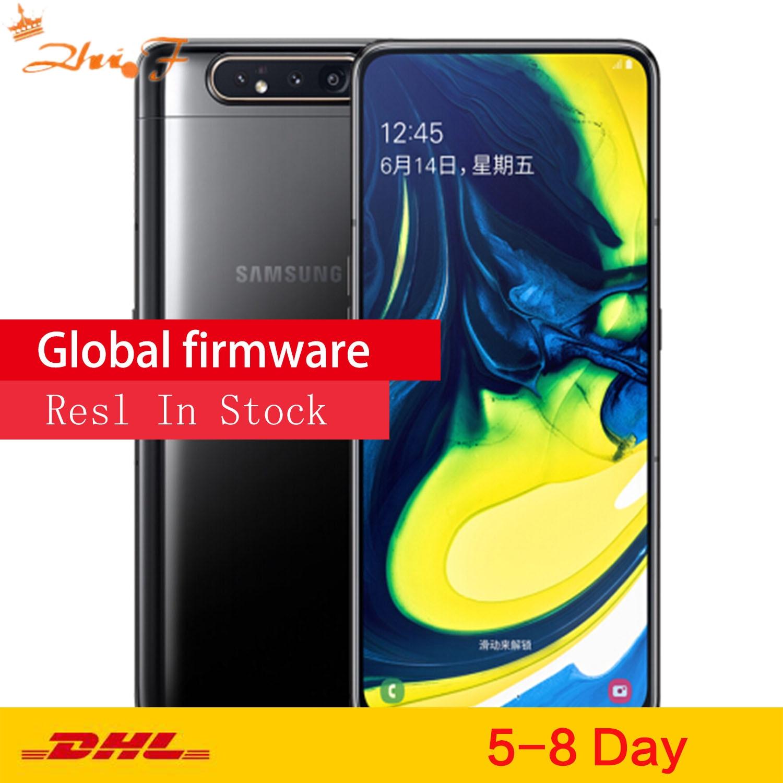 Смартфон Samsung Galaxy A80 A8050, экран 6,7 дюйма infinity, Восьмиядерный процессор Snapd