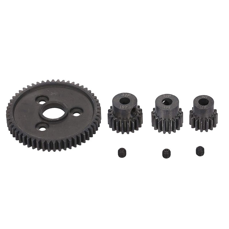 Heavy Duty Hardened Steel Spur 54T Gear with 15T/17T/19T Pinion for Traxxas Slash 4X4 Stampede 4X4 Traxxas 1/10 Summit Traxxas 1 enlarge
