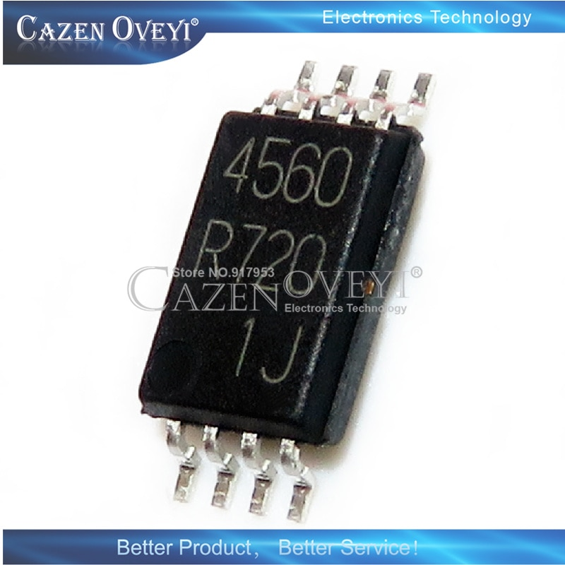 5 pedaço BA4560RF-E2 BA4560R SOP-8 BA4560RFVM-TR BA456 456 MSOP-8 Em Estoque