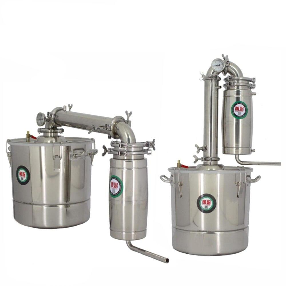 جهاز تقطير النبيذ ، 20 لترًا ، 30 لترًا ، 50 لترًا ، 70 لترًا ، تخمير منزلي ، آلة فودكا مقطرة ، كحول ، ويسكي ، تقطير