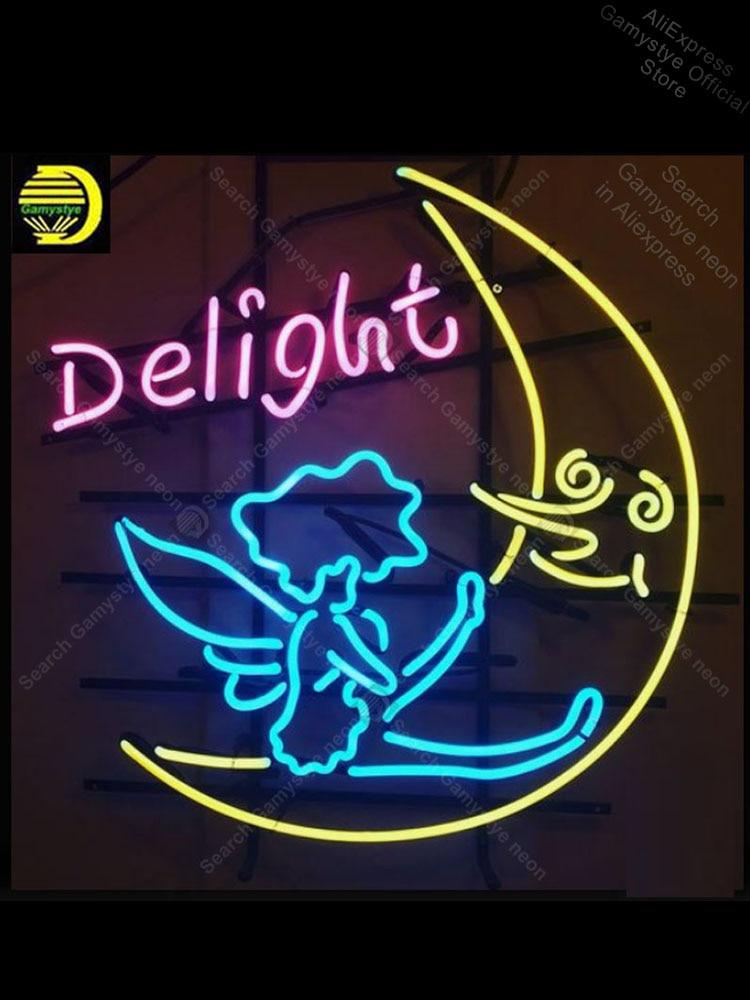 علامة ضوء النيون ، لمبة القمر ، الملاك ، الحرف اليدوية ، لإضاءة الأماكن الخارجية ، الفندق ، المنزل