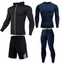 Nieuwe Winter Thermisch Ondergoed Sets Mannen Snel Droog Anti-Microbiële Stretch Mannen Mannelijke Warme Lange Onderbroek Fitness Mannen sport Running Set