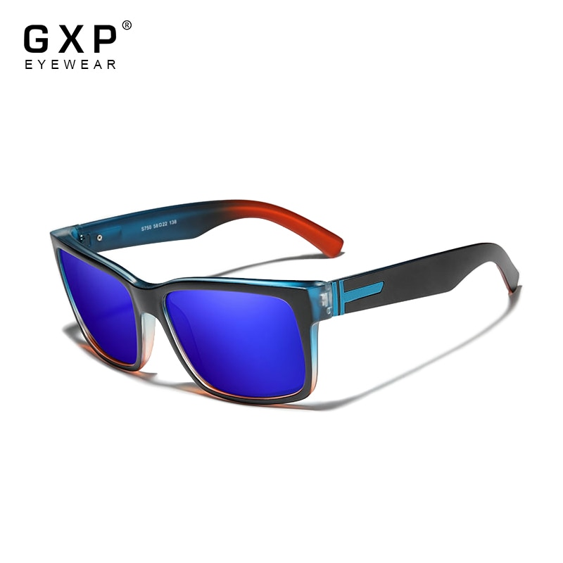 GXP Sports Polarized Men's Sunglasses Goggle Mirror Lens Male Sun Glasses Women For Men Eyewear 9