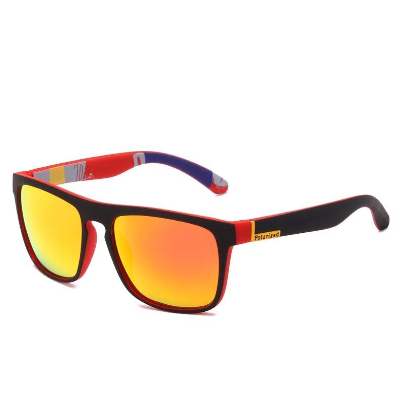 Солнцезащитные очки Polaroid унисекс, винтажные квадратные Поляризационные солнечные очки от известного бренда, ретро для мужчин и женщин