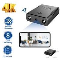 4K 1080P мини-камера WiFi XD умная беспроводная видеокамера ip самая маленькая мини-видеокамера Спортивная микро-камера циклическая запись удален...