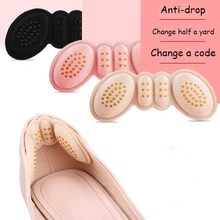 Fashion Women Insoles for Shoes High Heels Adjust Size Adhesive Heel Liner Grips Protector Sticker P