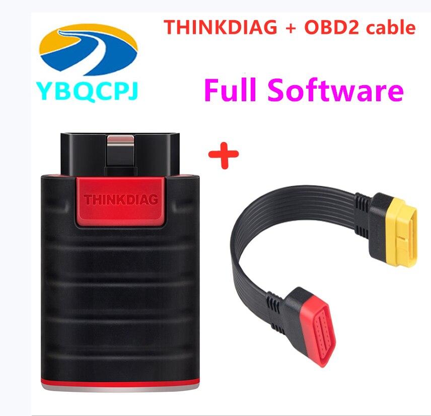 Starten Thinkdiag Volle Software Full System OBD2 Diagnose Werkzeug Leistungsstarke als Easydiag golo 3