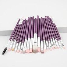 1 ensemble pinceaux de maquillage fond de teint poudre Blush fard à paupières correcteur lèvres yeux maquillage brosse cosmétiques professionnels outils de beauté