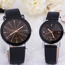 Couples watch han edition lovers belt tide table contracted quartz watch men and women students