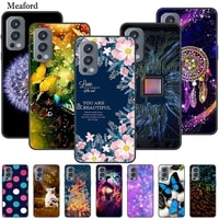 for oneplus nord 2 case luxury silicone tpu soft cover phone case for oneplus nord2 5g shockproof protective bumper funda coque