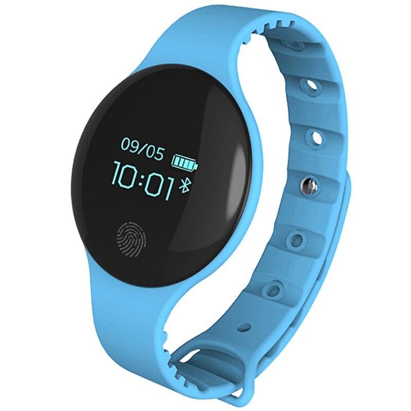 Reloj inteligente H8 W08 con Bluetooth para IOS Android hombres mujeres deporte inteligente podómetro Fitness pulsera Digital Reloj inteligente para teléfono