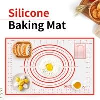meijuner non stick silicone baking mat pizza dough maker pastry kitchen gadgets cooking tools 2926cm4030cm5040cm6040cm
