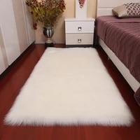 thick faux fur carpet for living room plush rug child bedroom fluffy floor carpets bedside home decor area rugs soft velvet mat