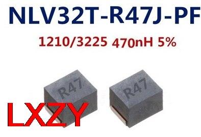 FREESHIPPING 2000 قطعة/الوحدة 1210 3225 5% 470NH IND ثابت 450MA 500 موهم NLV32T-R47J-PF