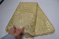 hot sale organza lace fabric high quality african lace fabric with sequin french net lace fabrics for women dress olp 204