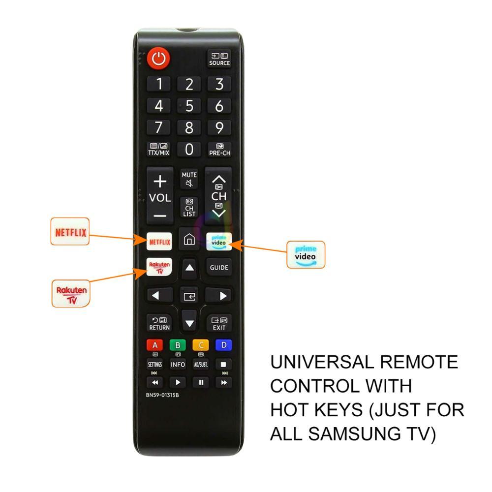UNIVERSAL REMOTE CONTROL BN59-01315B 01315A USE FOR SAMSUNG LED LCD UHD HD 4K 8K ULTAR QLED SMART WIFI HDR TV
