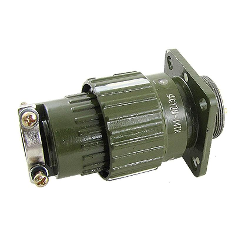 Y2M-14TK AC 500 V Gold plated 14 pin conector Circular