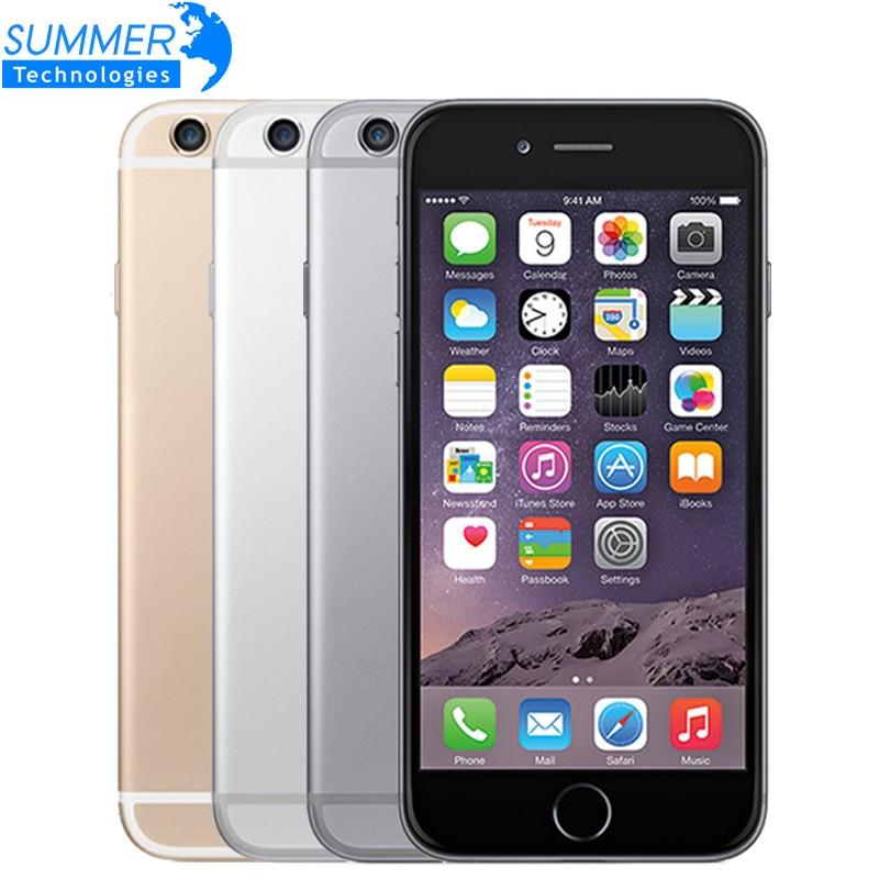 Apple-Smartphone iPhone 6S ، هاتف خلوي أصلي مجاني ، IOS 9 ، ثنائي النواة ، 2GB RAM ، 16 GB/64 GB/128GB ROM ، شاشة 4.7 بوصة ، كاميرا 12.0MP ، 4G LTE