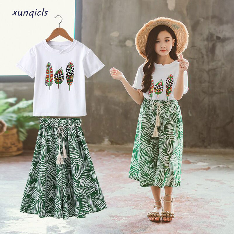 Summer Girls Clothes Sets Baby Girl Short Sleeve Shirt Top+Shorts Suits Kids Clothing Printed Children's Clothes 2pcs korean girl fashion summer letter printed kids petal sleeves t shirt shorts suits pretty girl clothes