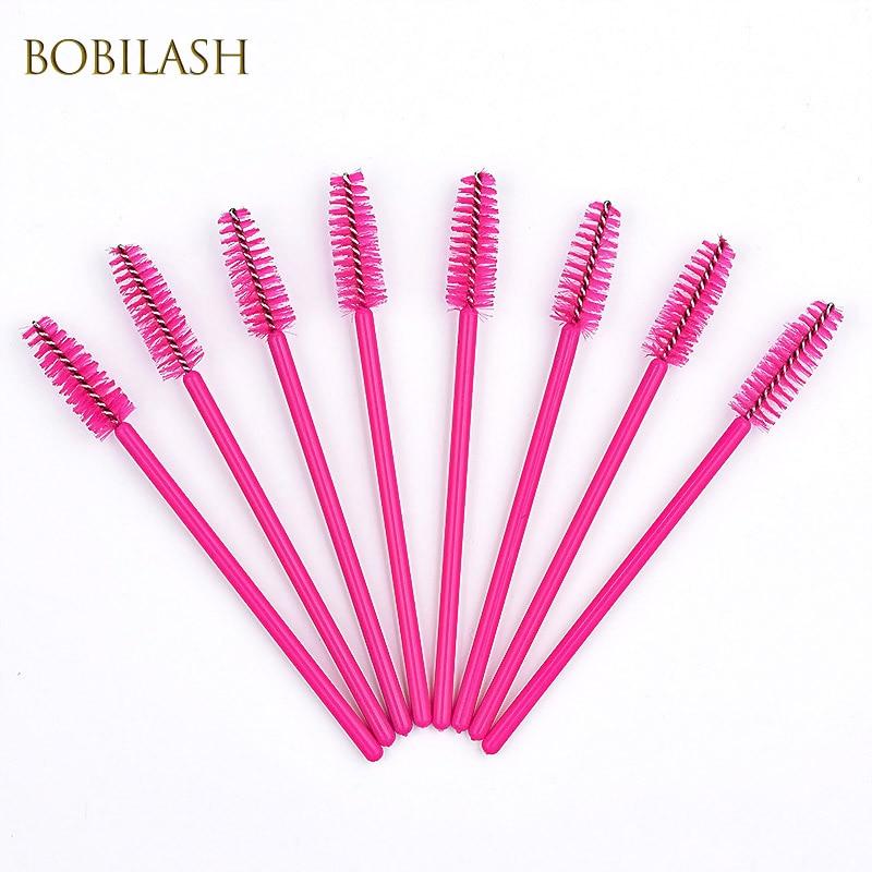 Eyelash Brush Mascara Wand Applicator Disposable Eyebrow Brush Eye Lashes Cosmetic Brushes Eyelash Extension Tools for Makeup недорого