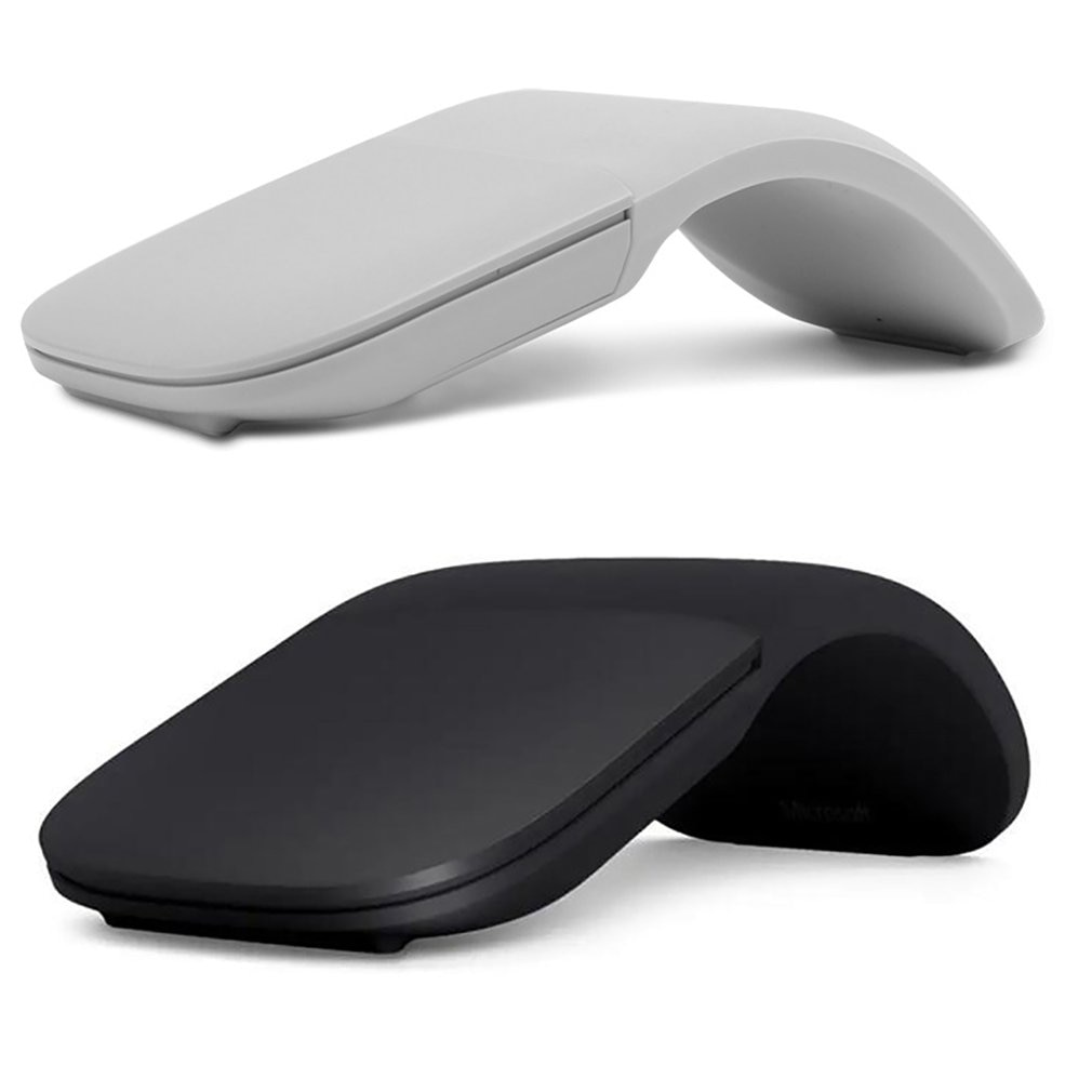 4.0 Wireless Silent Touch Folding Mouse 2.4GHZ Wireless Connection Ultra-thin Optical Mouse For Home Office Use