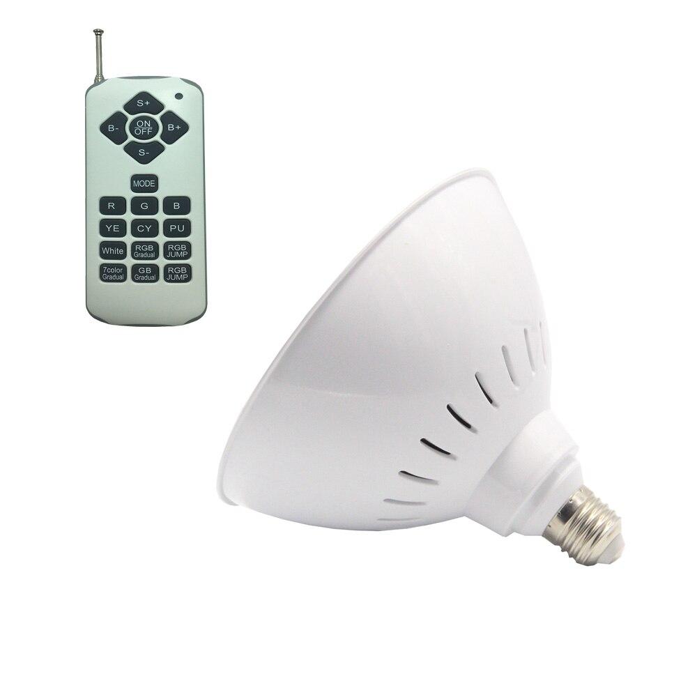 E26 Projecteur Piscine LED RGB 12v Pool 25W 35W 40W E27 Underwater Lighting AC110V AC120V Warm White Cold White