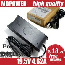 MDPOWER-cordon dalimentation ca 1535 V 4.62A 90W   Pour Notebook 1536 1537 19.5, alimentation de lordinateur portable, adaptateur secteur, cordon de chargeur