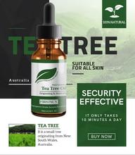 100% Natuurlijke Tea Tree Etherische Olie Massage Olie Controle Hydraterende Pure Organic Boom Thee Essentiële Oliën Huidverzorging TSLM1