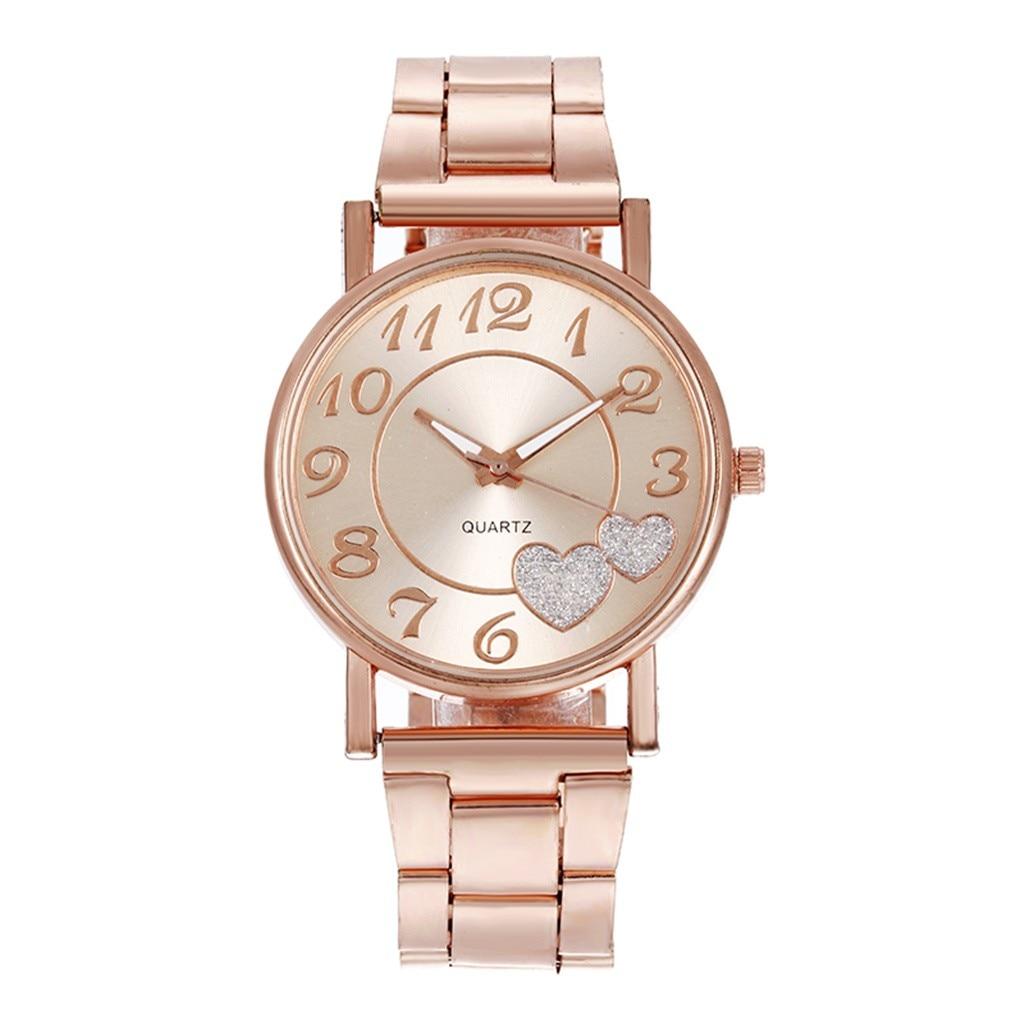 watches for women women wrist watc The Latest Top Fashion Ladies Mesh Belt Watch Wild Lady Creative Fashion Gift