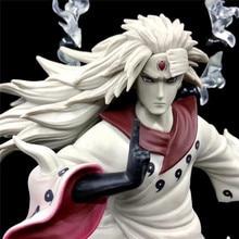 Anime Naruto Shippuden Uchiha Madara rikufait ennin Ver. Figurine en PVC Figurine à collectionner modèle jouet Figurine poupée 36cm