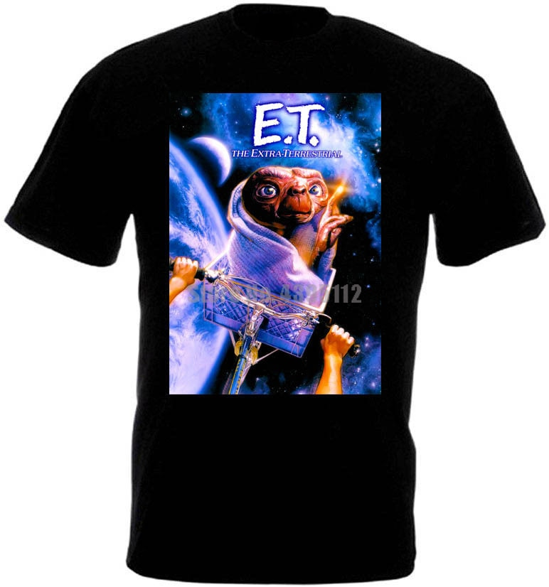 E T cartel de película Extra terrestre Unisex banda camisetas Rusia camisetas Satán camiseta esquí fuego Brigade Wptovj