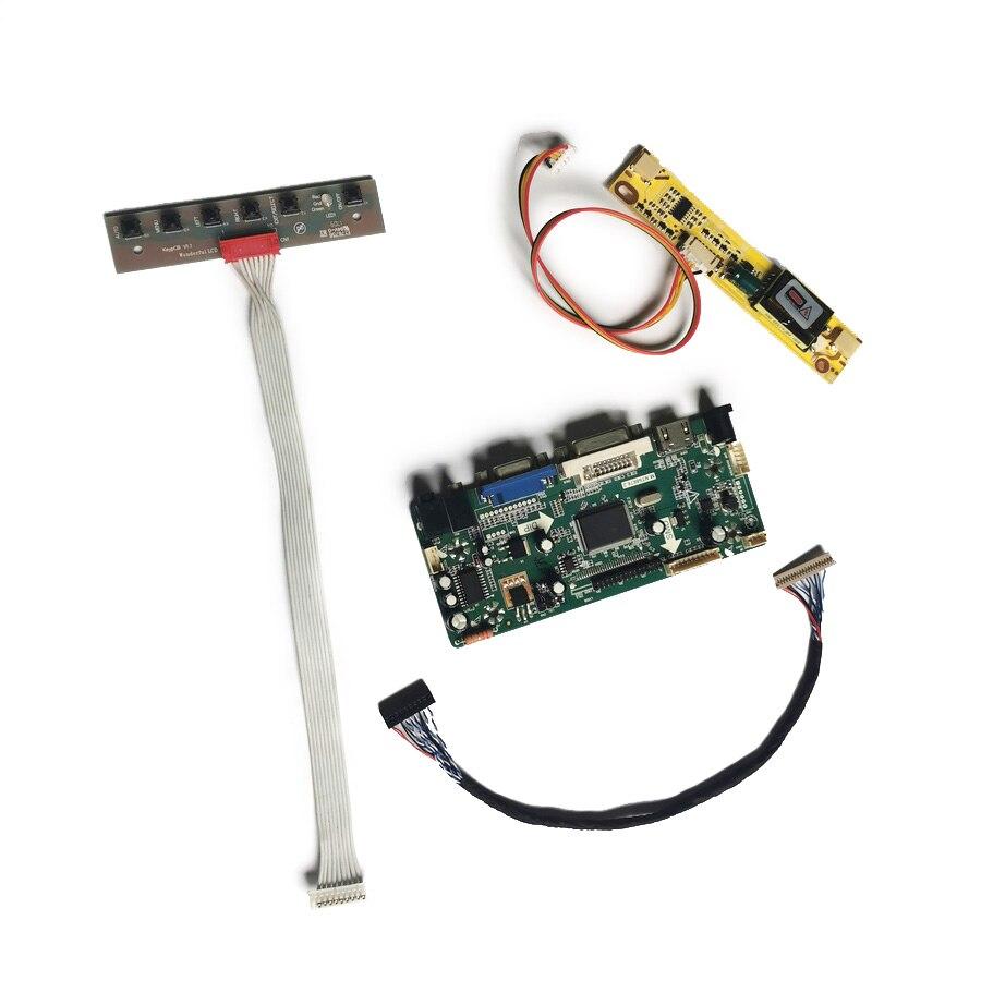 لوحة تحكم مناسبة طراز NL10276AC30/NL10276BC30 M.NT68676 2CCFL لوحة تحكم مجموعة اصنعها بنفسك مصفوفة 1024*768 20 دبوس LVDS VGA DVI
