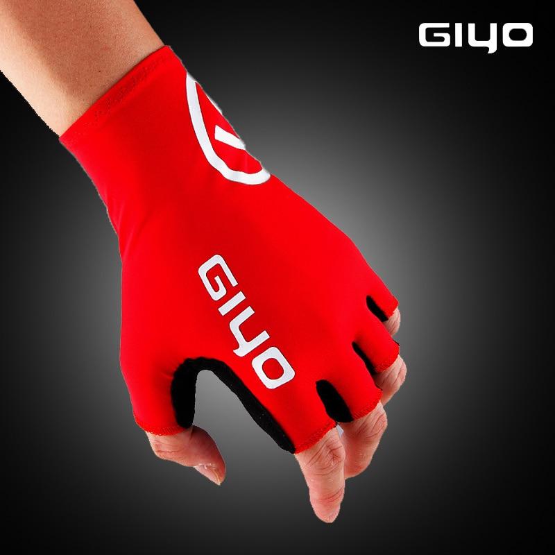 Guantes de Ciclismo de medio dedo Giyo, Guantes deportivos de Gel para...